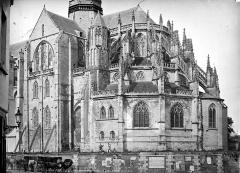 Collégiale Notre-Dame et Saint-Laurent - Angle sud-est : Transept et abside