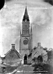 Eglise Notre-Dame-de-Quelven et abords - Ensemble ouest