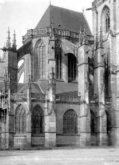 Eglise Notre-Dame-des-Marais - Abside, côté nord