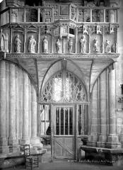 Eglise Notre-Dame - Tribune d'orgues