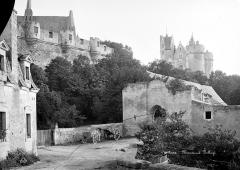 Château - Vue générale, du côté du Thouet