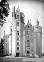 Château - Façade est sur cour