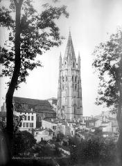 Eglise Saint-Eutrope - Ensemble nord : Clocher, côté nord-est