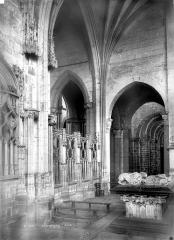 Prieuré bénédictin de Souvigny - Vue intérieure d'une chapelle latérale