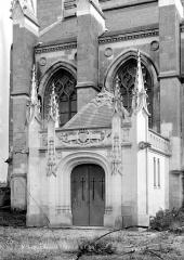 Château - Chapelle : Porche de la crypte