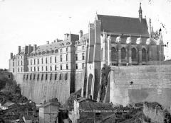 Château - Chapelle et château, côté nord-ouest