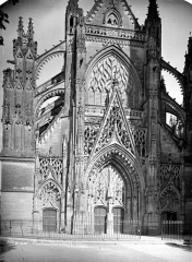 Ancienne abbaye de la Trinité - Eglise : Façade ouest
