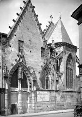 Ancien lycée Ronsard - Chapelle : Façade sur rue