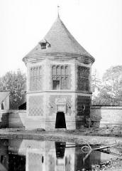 Ancien manoir des abbesses de Saint-Amand - Vue d'ensemble