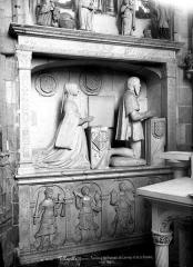 Eglise Saint-Jacques-le-Majeur et Saint-Jean-Baptiste - Tombeau de François de Lannoy et de sa femme