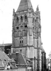 Eglise Saint-Martin - Tour clocher : Partie supérieure
