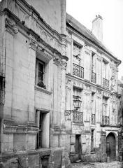 Maison dite de la Chancellerie - Façade sur rue
