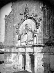 Eglise Sainte-Marie ou Notre-Dame - Portail de la façade ouest