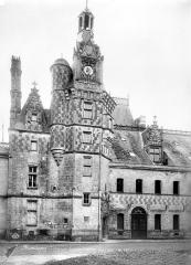 Château, actuellement musée agricole - Tourelle d'escalier