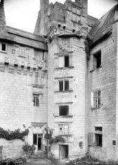 Château - Tourelle d'escalier