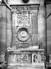 Ecole Nationale Supérieure des Beaux-Arts (ancien couvent des Grands Augustins) - Fragments