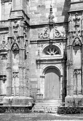 Eglise de Rembercourt - Portail sud de la façade ouest