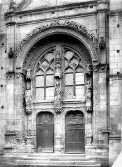 Eglise paroissiale Saint-Symphorien - Portail de la façade ouest
