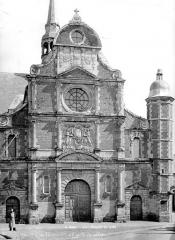 Collège de la Ville - Chapelle : Façade ouest