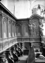 Ancienne abbaye - Eglise : Stalles du chœur