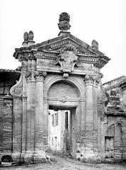 Ancienne chartreuse du Val-de-Bénédiction - Portail des Chartreux, côté sud