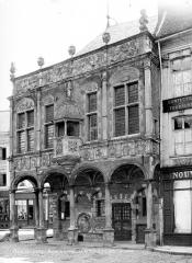 Ancien bailliage - Façade sur la place