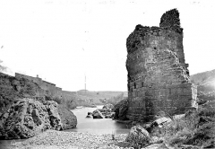 Vestiges du pont du Diable - Restes d'une pile