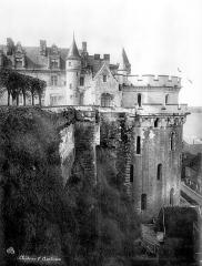 Château - Aile Louis XII et tour des Minimes, côté est