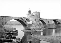 Chapelle et pont Saint-Bénézet - Vue d'ensemble