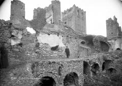 Abbaye de Saint-Martin du Canigou - Vue d'ensemble des ruines