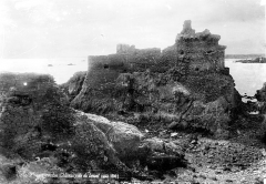 Château - Vue d'ensemble, côté est