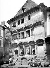 Maison dite du Bourreau - Façade sur rue