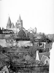 Ancienne collégiale Saint-Ours - Vue générale