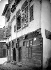 Maison du 16e siècle, dite Maison du Guesclin - Façade sur rue