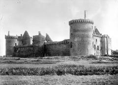 Ruines du château de Suscinio - Ensemble nord-ouest