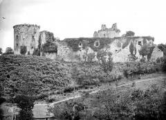 Ruines du château de Tonquédec - Vue d'ensemble