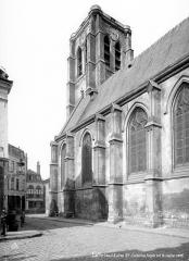 Ancien fort Saint-Sauveur - Chapelle : Façade sud et clocher