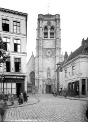 Ancien fort Saint-Sauveur - Chapelle : Façade ouest et clocher