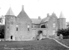 Château de Steenbourg - Façade du côté de l'entrée