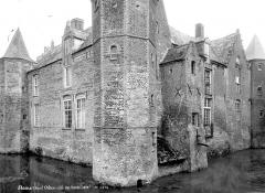 Château de Steenbourg - Façade du côté des fossés