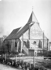 Eglise Saint-Germain-de-Charonne - Ensemble nord-ouest