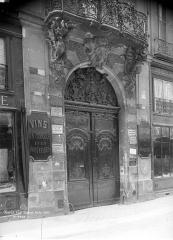 Hôtel de Chenizot - Façade sur rue : Porte