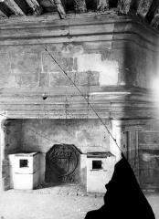Hôtel de Sens - Vue intérieure d'une salle : Cheminée