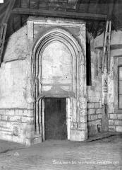 Hôtel de Sens - Tour : Porte d'accès