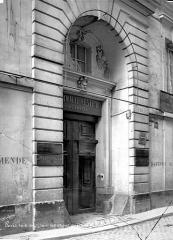 Hôtel d'Aumont - Façade sur rue : Porte