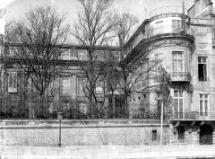 Hôtel Lambert - Façade sur jardins