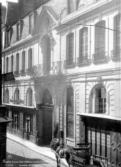 Hôtel Jeanne d'Albret - Façade sur rue en perspective
