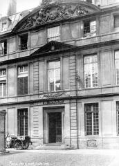 Ancien hôtel Aubert de Fontenay ou Salé, actuellement musée national Picasso - Façade