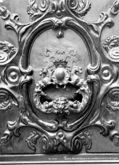 Hôtel de Chalons-Luxembourg - Marteau de porte