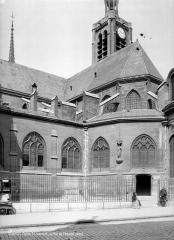 Eglise Saint-Laurent - Angle sud-est